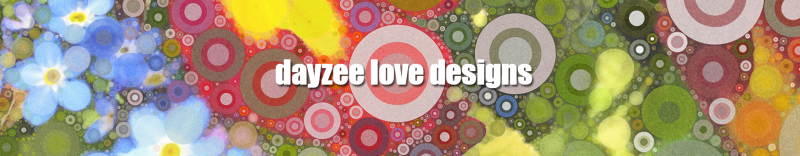dayzee love designs colourful banner