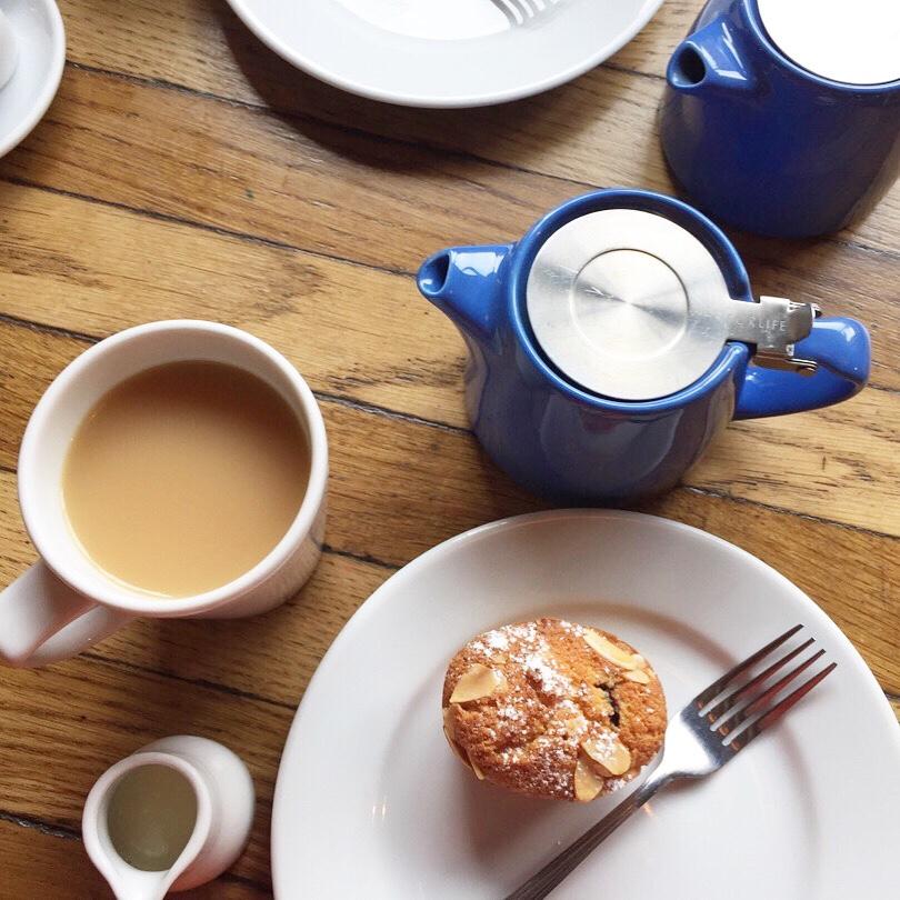 Tea & cake at BTP.